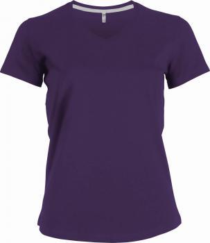 Dámské trièko kr.rukáv V-neck - Výprodej